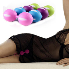 Top sale Vaginal Clever Ball Vagina Tight Exercise Trainer Female Vaginal Shrink Training dumbbell smart ball Dumbbells Massage(China)