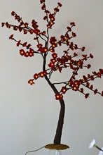 Free Shipping Blossom Plum Cherry Tree Light / LED Flower Tree, Branch Tree Light Wedding decoration blossome flower tree light
