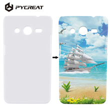 Sublimation Case 3D Printed DIY Heat Transfer Sublimation Cover For Samsung Galaxy Core 2 Dual SIM G355H SM-G355H G355 G3559(China)