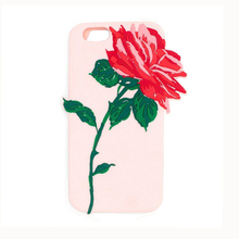2017 Fashion sexy girl love perfume candy rose flower soft silicone cell phones case For Iphone6 6s/6plus 6splus/7/7plus/8/8plus(China)