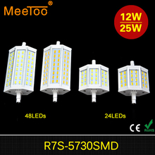 1PCS Dimmable R7S LED 15W 25W Bulb Lamp CREE SMD5730 r7s 78mm J78 118mm J118 Spot Light Replace Halogen Lamps Floodlight(China)