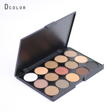 New eye shadow eyeshadow palette 15 color earth color eye shadow conclear palette makeup set cream face makeup Cosmetic E15