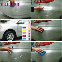 Colors Scratch Clear Repair  Auto Car Coat Paint Pen Touch Up Remover Remove Tool Caneta reparacao automovel zero quality 17may9