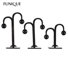 FUNIQUE New Multifunctional Tree Branch Shape Jewelry Display Earring Necklace Ring Display Stand For Stud Earrings 2setsx3PCs