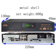 free shipping set top box Satellite Receiver DVB-S2 1080P HD satellite TV Decoder You tube, cccam, newcam, powervu, online movie(China)