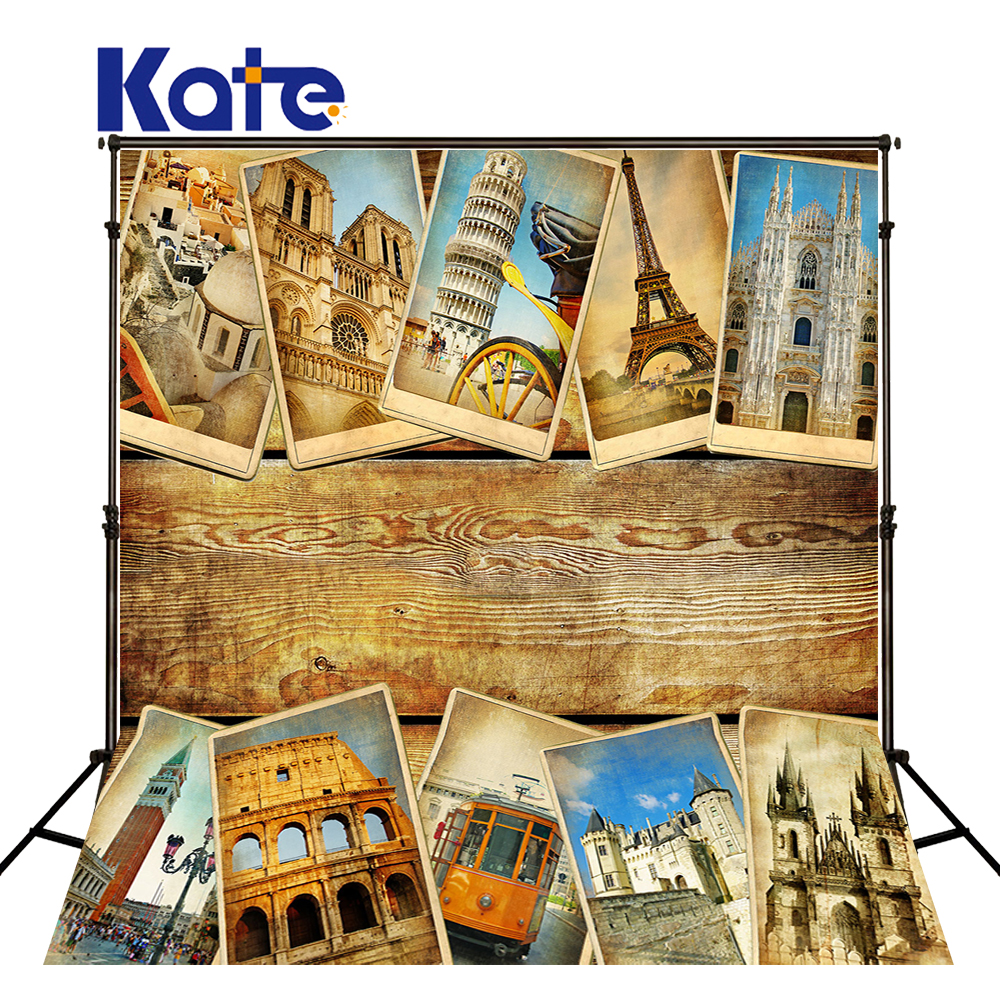 KATE World Famous Architecture Backdrops Prancha Wall Stamp Background Children Photo Background Backgrounds For Photo Studio<br>