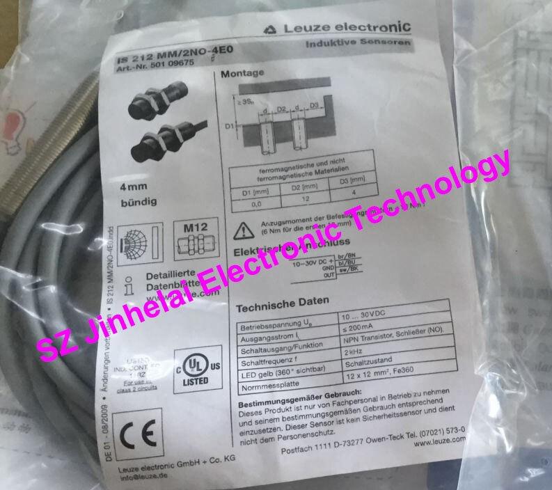 IS 212 MM/2NO-4E0 (IS 212 MM/2NO-4EO)  New and original Germany LEUZE Proximity switch, Proximity sensor<br>