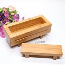 High quality latest rectangle shape bamboo sushi press maker rice meat mold sushi machine for diy japanese kitchen cooking tools