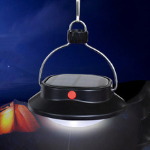 Portable Solar System Outdoor Equipment 60LEDS Camping Fishing Tent Emergency Lantern Lights Solar Camp Lamp Hand Crank Lantern(China)