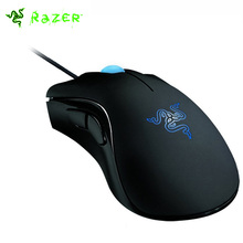 Razer Deathadder Mouse 3500DPI Gaming Mouse + Razer Goliathus Gamer Mouse Combo USB Wired Optical Mouse Suppot Razer Synapse 2.0(China)
