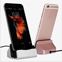 Original Docking Station USB Charger Dock for iPhone 7 Iphone 6 6S 5 Samsung Xiaomi Huawei Type-c Letv One Plus Mobile Phones