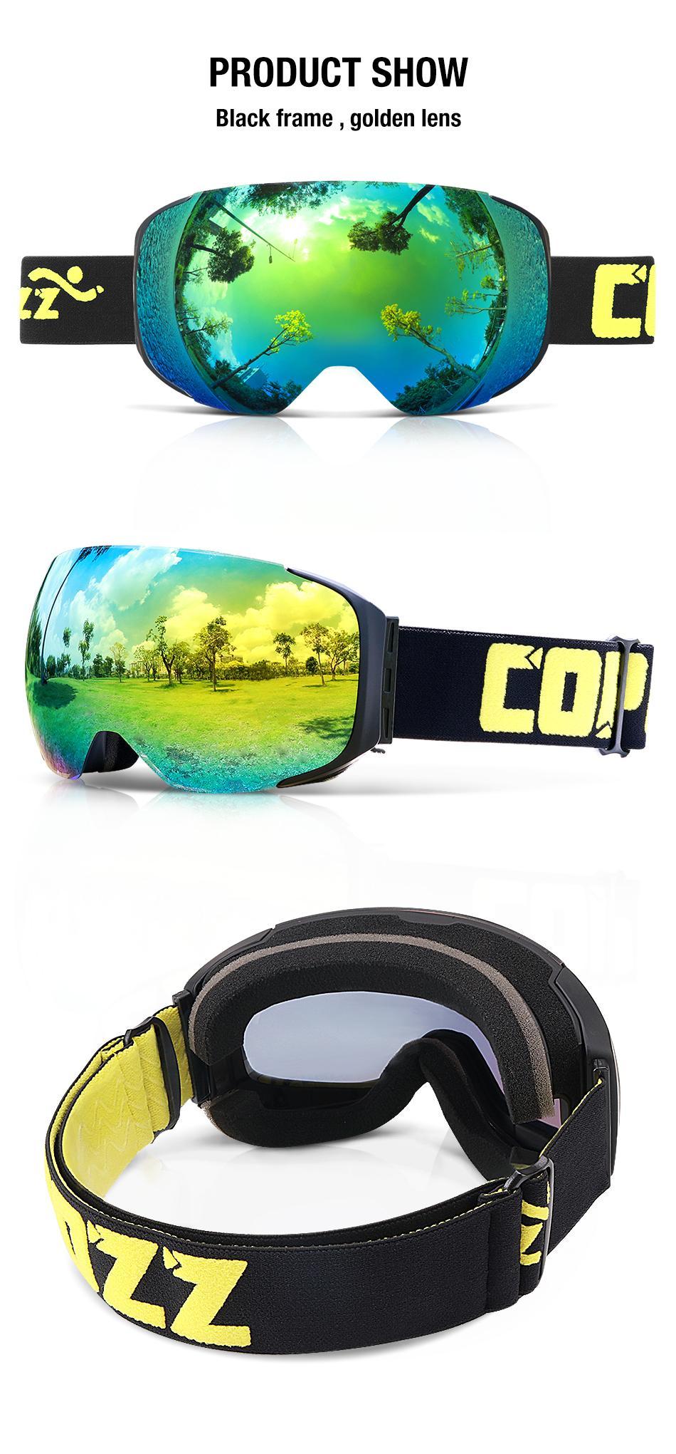 magnetic ski goggles 12