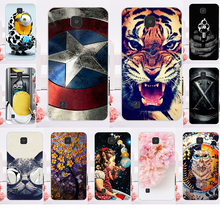 Smartphone Mobile Cases For LG K3 4G LTE K100 K100DS 4.5 inch Case Minions Flower Hard Back Skin Housing Sheath Bag Hood Shell