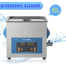 VGT-1860QTD 6L Digital Ultrasonic Cleaner AC 220/240V Bath Cleaning Tank For Jewelry Watch Glasses Circuit Board limpiador