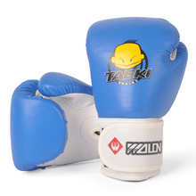 4OZ Kids Children Cartoon Sparring MMA Kick Fight Boxing Gloves Red Training Age5-12(China)