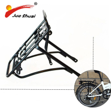 "Black/Silver 20"" bike rear rack aluminum bicycle luggage carrier bicycle rack Good Quality 20 inch Bike Rear Carrier"