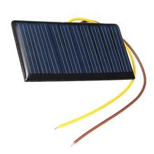 Mising 68*37*3mm 5V 0.3W 60mA DIY Mini Solar Epoxy Resin Plate Solar Cell Battery Solar Panel Power Charger Led Solar Light Lamp