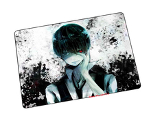 Tokyo Ghoul mouse pad Natural rubber gaming mousepad notbook computer mouse pad gear mousepads large mat to mouse keyboard pad