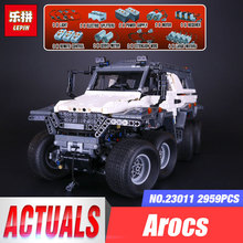 2017 New LEPIN 23011 2959 pcs Technic Series Off-road Vehicle Model Building Kits Block Educational Bricks Christmas Toys Gift