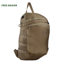 FREE SOLDIER outdoor sports tactical military portable storage backpack for men lightweight and wear-resistant for climbing camp()