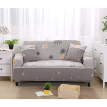 Spandex Sofa Covers Elastic Gray Printed Sofa Covers Slipcovers Cheap Stretch Furniture Protector Sofa Cover For Living Room V20