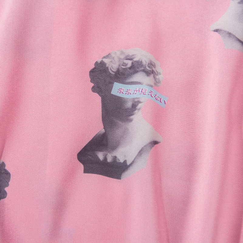 Michelangelo Statue David Print Shirts 7