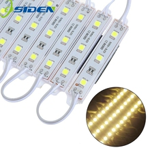 1000pcs/lot By DHL High power led module 5050 3leds DC12V white/Warm white/rgb waterproof FREE SHIPPING(China)