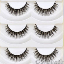 5 Pairs Cute Thick Cross Makeup Soft Eye Lashes Extension Make Up Beauty False Eyelashes Cosmetic