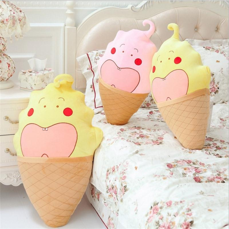 New arrival cute plush toy creative Cartoon hold pillow ice cream cone cushion/holding pillow good for gift baby Toy<br><br>Aliexpress