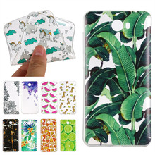 Case For Huawei Y5 II Y5II Ultra Thin Flexible Cover Rubber Fruits Animal Flower Clear Phone Bag Coque For Huawei Y5 ll 2 Etui