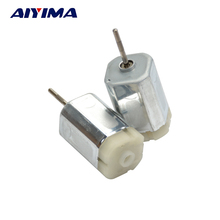 AIYIMA 5pcs DC12V 14500RPM Precision Square DC Motors Six Pole Rotor Large Torque For Car Folding Rearview Mirror Motor