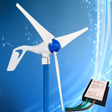 2017 Best Selling 400W Wind Turbine Kit 400W Wind Generator with 3PCS Blades + Wind Generator Charge Controller