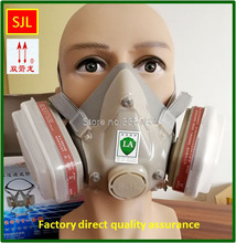 high quality respirator gas mask Be applicable 6001 filter pesticides spraying industrial safety gasmaske