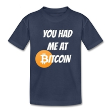 Buy Bitcoin T Shirt Baby Pure Cotton Short Sleeve Round Neck Tshirt Bitcoin children's Clothing Best Selling T-shirt Boys Girls for $9.90 in AliExpress store