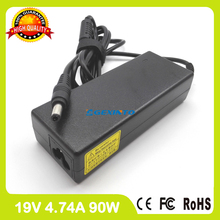 19V 4.74A 90W laptop ac adapter API1AD43 charger for Toshiba Qosmio F40 F45 F60