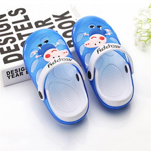 Fashion Girls Boys Cartoon Sandals Cool Summer Kids Homewear Sandals Baby Animation Slippers Shoes Flip Flop