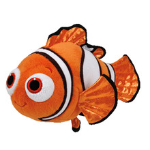 2016 new Ty original Beanie Buddies Plush Toy Stuffed Animal Pixar Movie Finding Dory Fish Nemo Brand New Kids Toy Birthday Gift