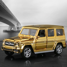 Alloy Benz G65 car model, 1:32 Die cast model, toys car, Car collection Alloy car Planting model