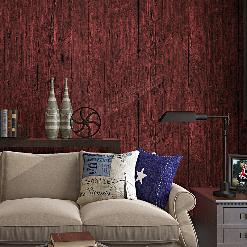 beibehang Pvc wood grain Wall Paper Gorgeous Home Decoration papel de parede 3D wallpaper for wall contact-paper papel contact<br>
