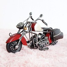 Metal Motorcycle Model Memorial For Davidson Harley  Birthday Gift Decoration Motorbike Models Toys For Kids Children