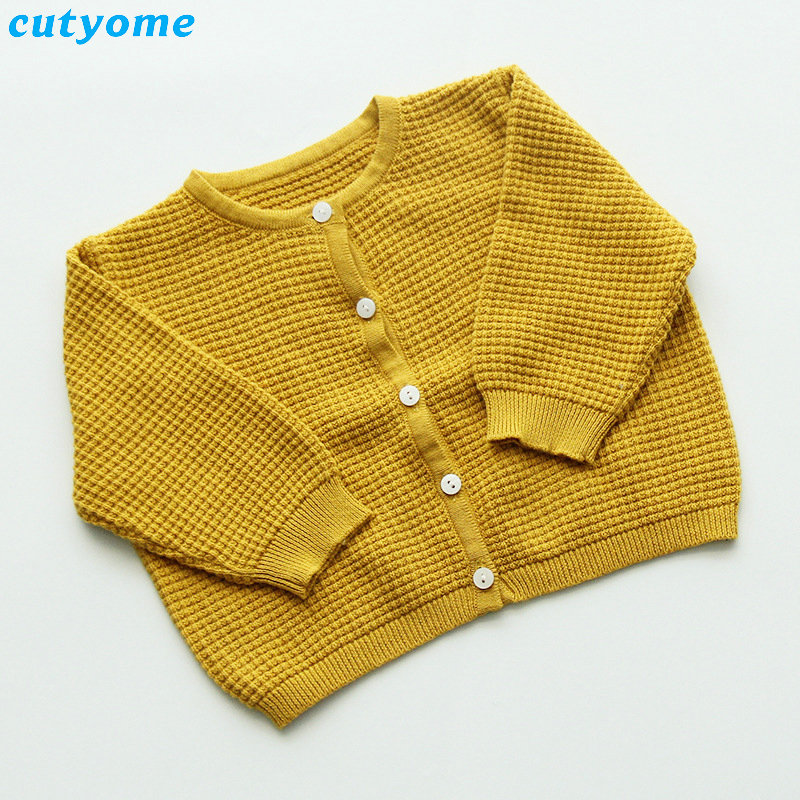 Cutyome Baby Boys Girls Cardigan Sweater Cotton Candy Color Long Sleeve Newborn Boys Clothes For Infant Knitted Outwear Sweaters (16)