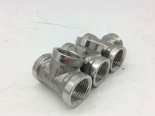 "Brand New 1/2"" Tee 3 way Threaded Pipe Fittings Stainless Steel SS 201 Female x Female x Female New High Quality"