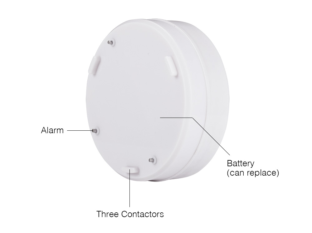 Free shipping Independent Wireless Water Leak Detector 90 dB Volume Water Leakage Alarm for Home Kitchen Toilet Floor_7