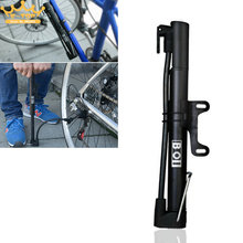Portable High Pressure Bicycle Pumps Ultralight Mini Cycling Bike Air Pump Tyre Tire Ball with Presta Valve Schrader Valve