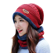 Winter Hat Women Knitted Hat Men Wool Fur Beanie Boo Cap(China)