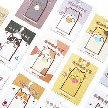 3pcs/lot Cute Cat dog Magnetic force bookmark material escolar magnetic bookmarks for book stationery school supplies papelaria(China)