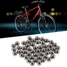 50pcs Durable Bicycle Stainless Steel Ball Replacement Parts 6mm Bike Bicycle Steel Ball Bearing(China)