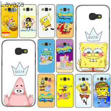 Lavaza SpongeBob SquarePants Sponge Bob Hard Case for Samsung Galaxy A3 A5 A7 J3 J5 J7 2015 2016 2017 & Grand Prime 2 Note 4 3