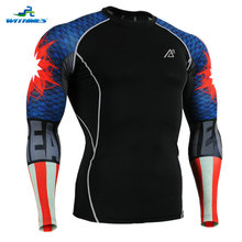 CPD-B37 USA American Body Building Volleyball Shirt Football Jerseys Boys Indoor Sportswear Skin Workout Clothing Triathlon Tops