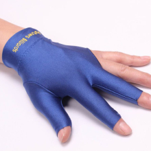 Spandex Billiards three fingers gloves Snooker Billiard Cue Glove Pool Left Hand Three Finger Accessory Fitness Accessories P5(China)